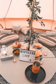 Want to create the perfect space for your guests to unwind at your event? Our bell tent lazy pitches are super cosy, and create a dreamy atmosphere for your guests to sit back, relax and put the world to right! Stylish bell tents by www.pitch-boutique.co.uk