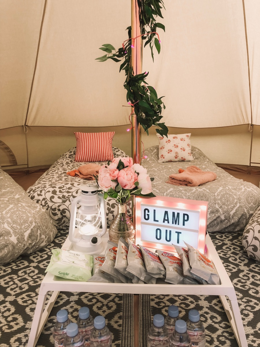 Beautiful glamping tents styled by www.pitch-boutique.co.uk - including glamping party ideas, luxurious glamping bedding, cosy bell tent interiors and creative party decorations!