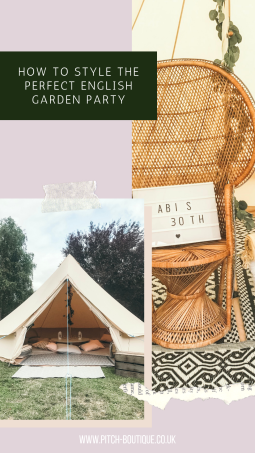 How to style the perfect English Garden Party by Pitch Boutique!